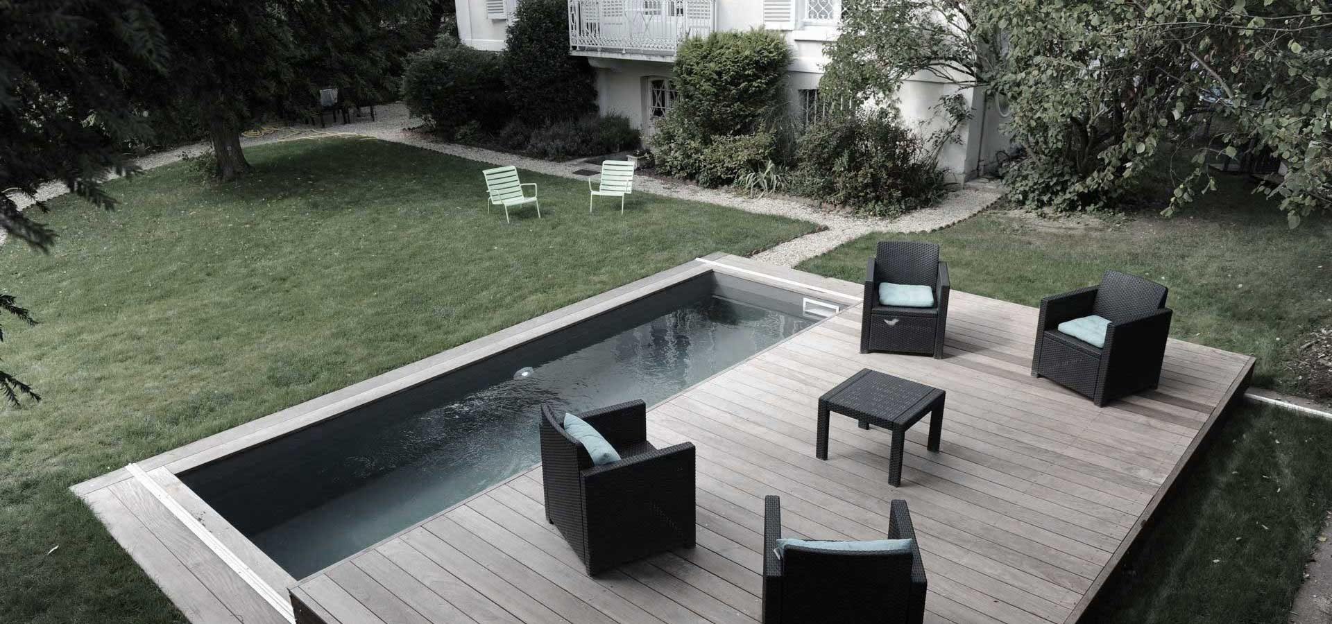 Ploché zastřešení bazénů